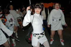 Leijorettes-81 (Sally Asher) Tags: new orleans princess neworleans parade princessleia nola marchingband mardigras leia krewe majorettes carinval chewbacchus leijorettes