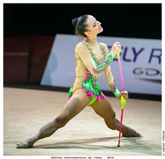 Sara STAYKOVA (BUL), Qualification 28èmes Grand Prix Internationaux GRS Thiais 2014 (Olivier PRIEUR) Tags: sport gymnastics clubs gr rhythmicgymnastics grs ginnastica gimnasiaritmica гимнастика ginnasticaritmica massues gymnastiquerythmique rhythmischesportgymnastik internationauxgrs sarastaykovabul