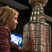 Stanley Cup at Oregon Historical Society 2014 3 21-3