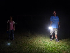 "Pucallpa - the difference between a regular flashlight and a Sun King Pro • <a style=""font-size:0.8em;"" href=""http://www.flickr.com/photos/69507798@N03/13540494114/"" target=""_blank"">View on Flickr</a>"