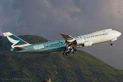 """Cathay Pacific Cargo Boeing 747-8F B-LJA """"Hong Kong Trader"""" (EvanLe20) Tags: airport pacific cargo hong kong international boeing cathay hkg vhhh blja 7478f hongkongtrader"""