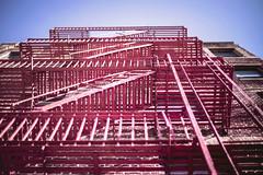 stairs. (Ian Cocquerel) Tags: nyc usa ny newyork building canon 50mm stair bokeh manhattan f14 greenwich edificio pointofview desenfoque fullframe barrio ff escaleras greenwichvillage estadosunidos nuevayork canon50mmf14 canon6d greenwichneighborhood