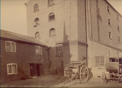 Sanders & Hanley, Dane Bridge Mills, London Road (rear of) – 1891