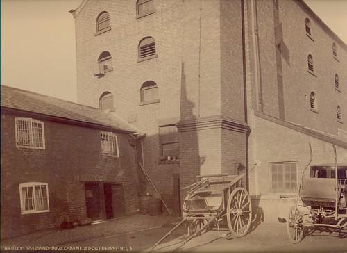 Sanders & Hanley, Dane Bridge Mills, London Road (rear of) – 1891