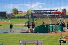 Behind The Dish (danieltwomey) Tags: arizona az baseball giants old scottsdale set spring sun sunset town training