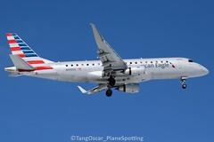 N443YX (thokaty) Tags: kbdl bradleyinternationalairport americanairlines americaneagle republicairways embraer erj175 erj175lr e175 e175lr n443yx eis2014 dca