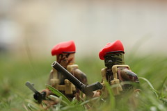 The Bell (lego slayer) Tags: wonder weapon lego legos wwii sas camo brickarms citizen brick brickmania grass field mystery