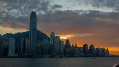 Hong Kong Skyline (Mikke.B) Tags: hongkong hong kong photography evening sunset canon 5d mkiii 1740mm