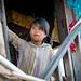 Jeune fille Birmane. Lac Inle.Myanmar