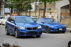 BMW X1, Bangladesh. (Samee55) Tags: bangladesh dhaka carspotting 2017 bmw cuv gulshan friday blue