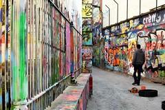 Graffiti street in Gand - Belgium (Kimoufli) Tags: street art streetart urban urbain urbanart tag graffiti rue gand gent belgique belgium couleurs coloré nikon d5300