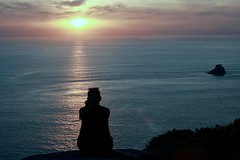 Disfrutando (agustinruzafa) Tags: fisterra sunset