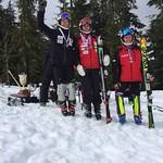 Whistler Spring Series Slalom - Day 2 men's U19 podium