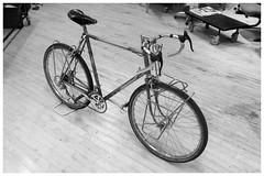 Ready to (test) ride... (Shu-Sin) Tags: shusin velo bicycle randonneur randonneuse racks decaleur steel classic handlebar bag braze brass silver