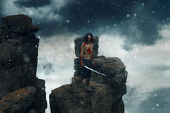 """Samurai Jack"" (Kavan The Kid) Tags: kavan kid fine art photography cardoza samurai jack aku self portrait tutorial howto dark strange surreal weird 365project eerie eccentric photoshop photograph imagination scary amazing creepy beauty nature"