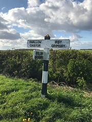 Sign-posted (BiggestWoo) Tags: sign signpost street lincolnshire wolds lincs irby