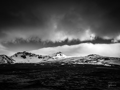 apple bw iceland snæfellsjökullnationalpark... (Photo: josefrancisco.salgado on Flickr)