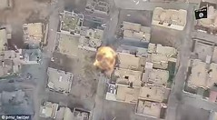 Hero Iraqi soldier saves his comrades from an ISIS suicide bomber by reversing his car into a speeding vehicle packed with explosives (BennyCapricorn) Tags: humvee iraq isis soldier suicidebomber