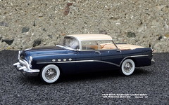 1954 Buick Roadmaster Landau Sedan - 1954 GM Motorama Show Car (JCarnutz) Tags: 143scale resincast matrixmodels 1954 buick roadmaster landau