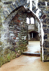 Wales.  September 3rd.-10th. 2000 (Cynthia of Harborough) Tags: 2000 architecture arches castles entrances ruins