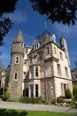 Cloan House (itmpa) Tags: cloanhouse 1800 1820 extended andrewheiton 1866 1860s harryramsaytaylor 19045 1900s listed categoryb house domestic frenchifiedscotsbaronial scotsbaronial cloan auchterarder ahss studytour architecturalheritagesocietyofscotland bluesky scotland archhist itmpa tomparnell canon 6d canon6d