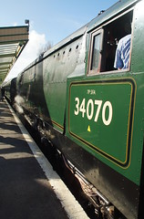DSC01739 (Alexander Morley) Tags: swanage railway strictly bulleid steam gala 2017 pacific southern 34070 manston
