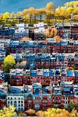 Back Bay Brownstones ((Jessica)) Tags: boston backbay prudential brownstones skywalk