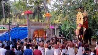 Thrissur Chelakkottukara Kulamuttam Sree Maha Vishnu Temple Pooram 1