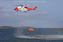 Irish Coastguard S92 & RNLI Lifeboard SAR role demo (photozone72) Tags: portrush airshows aircraft airshow helicopter sar rotors aviation canon 7d canon100400mmf4556l