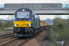 68016 'Fearless' - 6C89 (AnthonyRailwayPhotography) Tags: 68016 fearless metrocentre