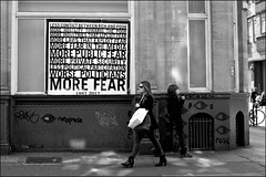 More fear - DSCF1735a (normko) Tags: london west end soho street poster pasteup graffiti democracy art