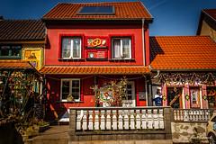 Eisenach Sommergewinn (hodo54) Tags: eisenach frühlingsfest geschmücktehäuser thüringen