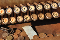 Memories (daveknight1946) Tags: keys shillings coins money old rusty pennies greatphotographers