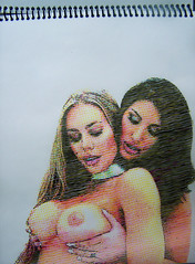 August Ames & Nicole Aniston (Tenazadrine Boy) Tags: augustames august ames nocile aniston nicoleaniston pornstar porn star porno estrella lesbian sexy girls hot blonde brunette blondie tits senos tetas boobs pechos big huge emptyboy empty boy illustration ilustracion ilustración dibujo cmyk tenazadrine
