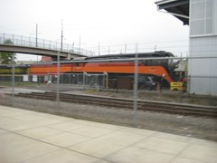 4449, being used as an idler to pick the SW10B & a baggage car out of the ORHF shops (Tysasi) Tags: 4449 sp4449 orhf