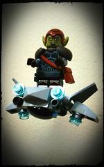 "The Green Goblin ""KreePverse"" (Korpsical666) Tags: marvel spiderman superhero green goblin comics lego minifigure custom"