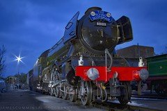 60103 at Sheffield Park (70C Photography) Tags: flyingscotsman 60103 bluebellrailway trains steam canon7d outdoor railways locomotive icon jamescummins sussex england sheffieldpark heritage night