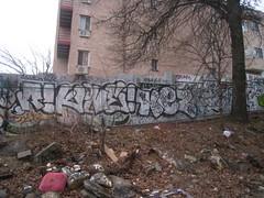 (Billy Danze.) Tags: new york nyc newyorkcity queens graffiti kez