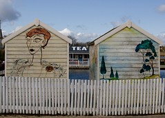 Sothwold Suffolk (jpixprime) Tags: southwold beachhuts pier mermaids creamtea