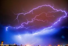 Lightning and thunder (Masroor Gilani) Tags: pakistan weather lightning sky longexposure therebeastormabrewin