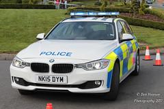 NK15 DYM (Ben - NorthEast Photographer) Tags: durham constabulary bmw 330d estate motor patrols traffic car xdrive cdosu rtc anpr 2015 nk15 dym nk15dym blue light