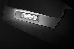 Vertige (MrMyz) Tags: bw fineart rémyb architecture blackwhite blackandwhite eos5d escaliers monochrome noirblanc noiretblanc solitude solo