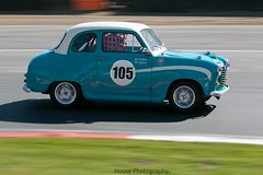 HRDC Touring Greats - Austin A30 ({House} Photography) Tags: brands hatch uk kent fawkham indy circuit car automotive panning canon 70d 70200 f4 housephotography timothyhouse racing motorsport hrdc touring greats old classic cars austin a30