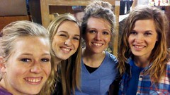 Shopping together (The Kingery Family) Tags: kingery family bluegrass baseball music singing happy sisters smiles