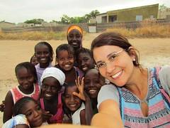 Arte de Silvana Bezerra colorindo o Senegal