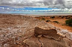 Salt Lake Hart (caralan393) Tags: outback phone lake salt nsw clouds