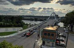 Lowry Avenue Bridge from the Danger (schwerdf) Tags: bridges hdr lowryavenuebridge minneapolis minnesota northeast