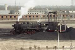 2011/1 SY1141 Xian (Pocahontas®) Tags: sy1141 xian steam engine locomotive loco train railway railroad rail depot china kodak gold200 135film film