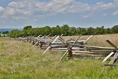 Looking East from Oak Ridge (nutzk) Tags: pennsylvania gettysburg battle army union confederate generalmeade generallee armyofthepotomac armyofnorthvirginia batteryl newyorklightartillery cannon gun