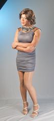A Flirty Look! (kaceycd) Tags: crossdress tg tgirl lycra spandex seethrough seethru mesh minidress pantyhose pumps sandals highheels stilettosandals stilettopumps stilettoheels sexypumps sexysandals stilettos s